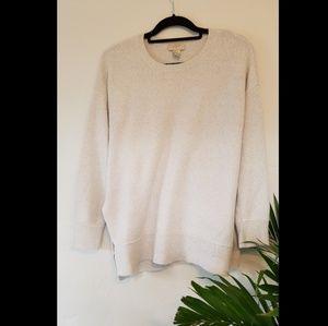 LOFT oversized tunic sweater